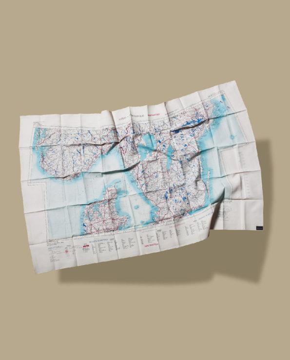 BONHOMME : Osla/Stockholm/Riga escape scarf