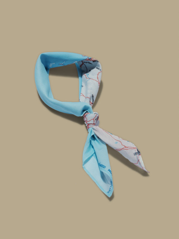 Collaboration Bonhomme & Modetrotter : Foulard